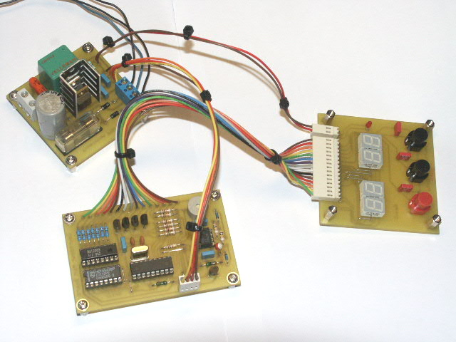 PIC16F84 Countdown timer for PCB exposure unit