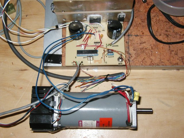 PIC30f4012  DC motor controller