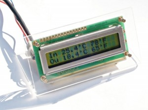 Simple Digital Thermometer