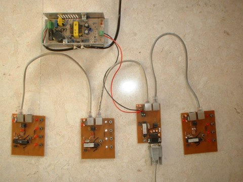 Voting Pads System based on ATmega88