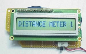68HC908QY4 Distance Meter