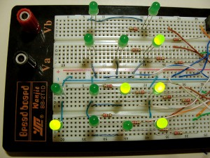 Arduino Based Binary Clock