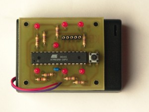 ATmega8 Electronic Dice