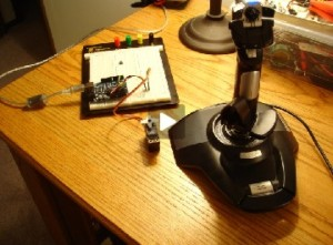 Control A Servo Using A Joystick