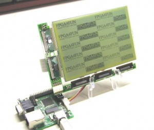 Graphic LCD Pannel Interfaced With FPGA