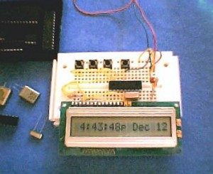 LCD Display with Date and Time