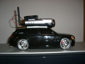 .NET controlled RC car with wireless camera