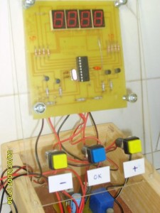 PIC16F84A Alarm Clock