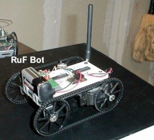 RF Modem Robotics Project
