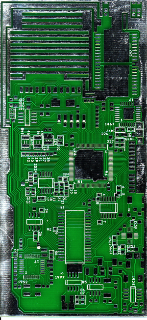 new pcb from bkrtech that is gonna be used for AVR ATmega640 dev board