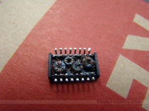 weird chip with inductance