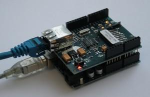 Ethernet via Arduino