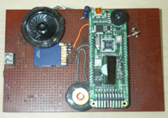 Voice pad with LM3S811