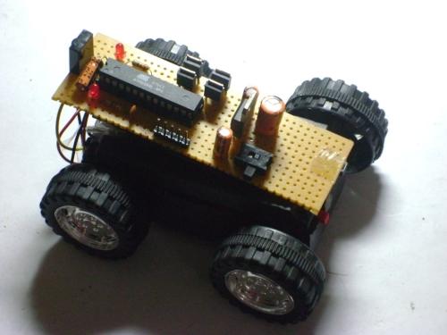 IR remote robot