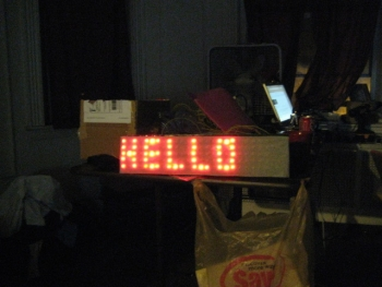 simple led display board