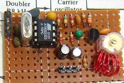 AVR FM transmitter