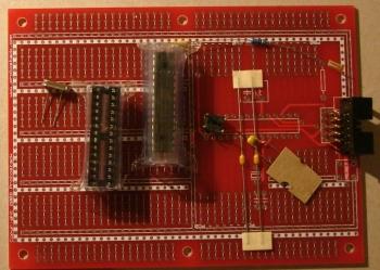 ATmega8 kit unassembled