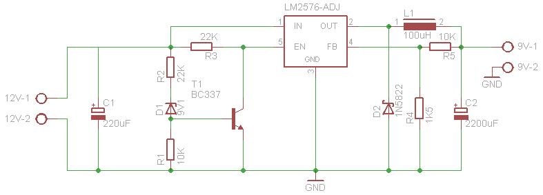 Eee Pc charger schematic