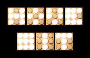 9 Bits Visual Memory