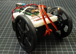 braitenberg robot with arduino