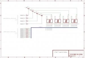 seven segment schematic