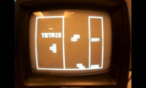 Tetris with a wireless glove