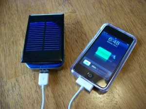 Solar Recharger for iPodTouch