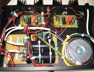 Audio Amplifier with TDA2050