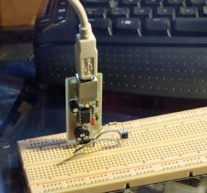 DIY USB Oscilloscope