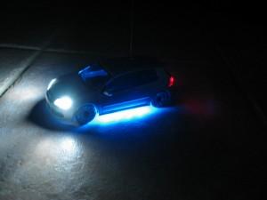 Mini-car Light Installation