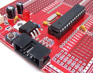 protostack AVR 28 pin board