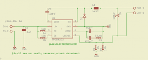 TPS24232 constant current source schematic