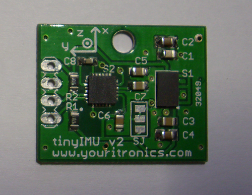 tinyIMU v2 inertial measurement unit