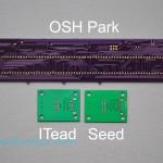 ITead vs Seeed vs OSH Park