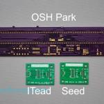 ITead vs Seeed vs OSH Park - top