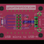 USB-micro to USB-A bridge